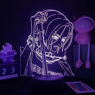 3D illusielamp LED Nachtlampje Anime Nana Voor Slaapkamer Decor Tafellamp Nana Osaki Illustratie Kids Kind Meisje Licht ma...