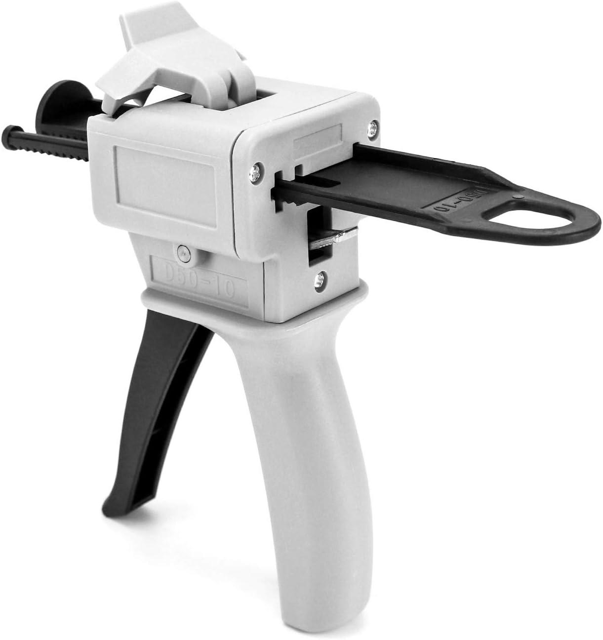 QWORK 50ml Dispensing Gun Kit Ratio Mixi Dental Seattle Mall Impression 10:1 2021new shipping free shipping