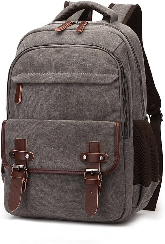 Sunbobo Männer Frauen Rucksack Daypack Wasserdichte Vintage Zipper Canvas Schultasche Outdoor-Shopping B07GJQDRN2  Bestellungen sind willkommen