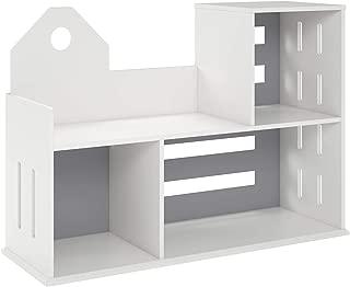 Novogratz Addison Bookcase, White