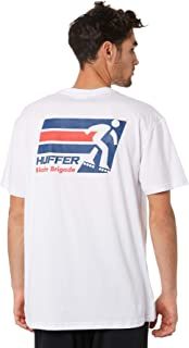 Huffer Men's Blade Brigade Mens Tee Short Sleeve Cotton White