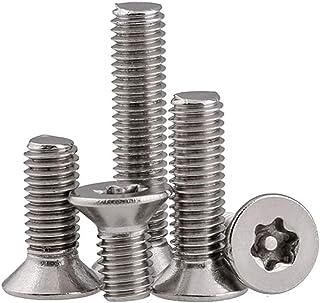 BOZONLI Schroeven Torx Verzonken Machineschroef Roestvrijstalen schroeven Inbusschroeven, M3×8mm,50 pcs