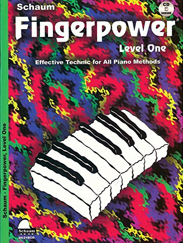 Fingerpower: Level 1, Book & CD (Schaum Publications Fingerpower(R))