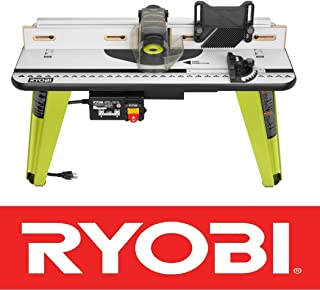 New Ryobi Universal Router Table Wood Working Tool Adjustable Fence A25rt03 Nib