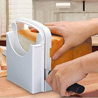 DETUOSI 食パンカットガイド パン切りガイド 折り畳み式デザイン 食パン スライサー