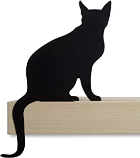 Artori Design Cat's Meow | Diva Figurine | Decorative Metal Cat Silhouette | Cat Decoration Statuette | Cat Lover Gift | Cat House Decor