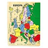 small foot company - Pequeños Pies Empresa Puzzle 7265 Europa