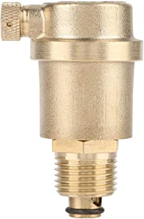 Automatic Air Vent valve,Hilitand G1/2 Brass DN15Solar Water Heater Pressure Relief Valve