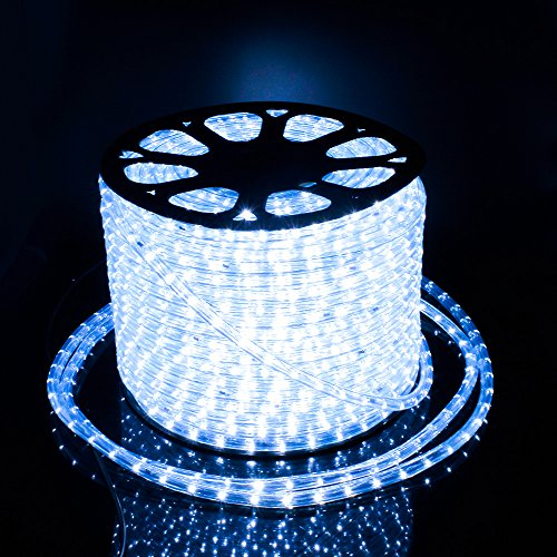 LED Lichterschlauch Licht Leiste 36LEDs/M Schlauch für Innen und Außen IP65 (50M/Kaltweiß)