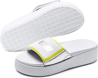 PUMA Women's Platform Slide TZ Metallic WNS Fashion Sandals
