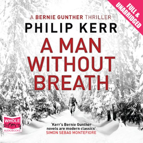 A Man Without Breath audiobook cover art