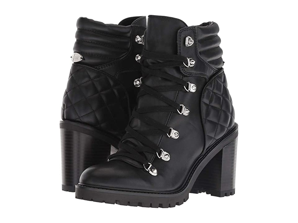 GUESS Geegee (Black Synthetic) Women
