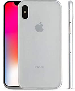 PEEL Ultra Thin iPhone X Case, Silver - Minimalist Design | Branding Free | Protects and Showcases Your Apple iPhone X
