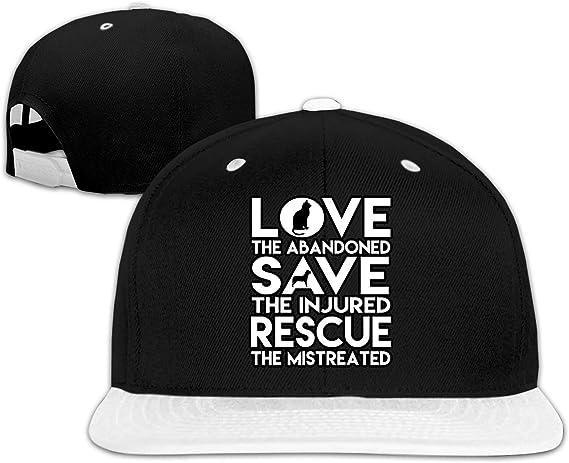 Feeding Pets of The Homeless Week Humane Society Unisex Casual Plain Hats Snapback Polo Style Cap Adjustable