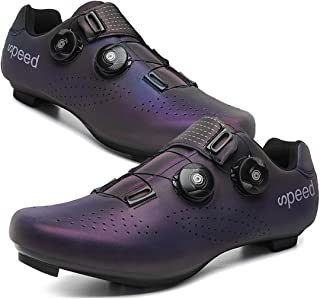 Sponsored Ad - Yutoey Mens or Womens 2021 Road Bike Cycling Shoes Compatible with Look SPD/SPD-SL Cleats for Indoor Exercise Cycling Shoes for Women Lock Pedal Bike Shoes