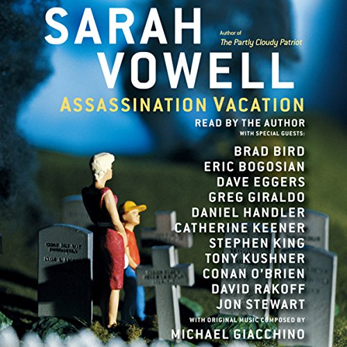 Assassination Vacation audiobook cover art