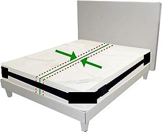Broniks Uchwyt na materac, system pasów mocujących do materacy, pas antypoślizgowy, do łóżek o wymiarach do 200 cm x 200 c...