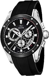JAGUAR - Reloj Modelo J688/1 de la colección Special Edition, Caja de 45 mm Correa de Caucho Negro para Caballero