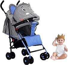 LBLA Baby Stroller Lightweight with Storage Basket,Compact Stroller/Pram for Baby/Kids Sit and Lie 0-3 Years