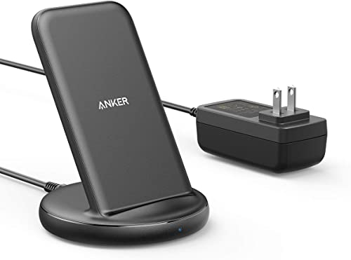 new arrival Anker Wireless Charger with Power Adapter, PowerWave II Stand, Qi-Certified 15W Max Fast Wireless Charging Stand for iPhone SE, 11, 11 Pro, online Xs, Xs Max, XR, X, Galaxy S10 S9 S8, Note 10 Note sale 9 & More outlet sale