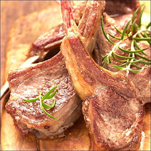 ラム肉 骨付きラム肉 ご家庭用 ラムチョップ 1kg (不揃い/冷凍) 業務用 ラム 羊肉 千歳ラム工房 肉の山本