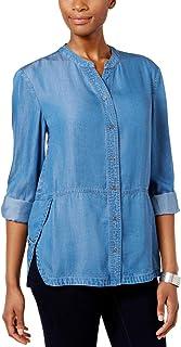 Style & Co. Petite Denim Shirt
