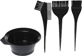 4 Pieces Hair Dye Brush Kit, Black - PF-040