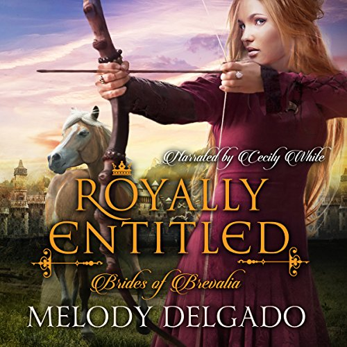 Royally Entitled audiobook cover art