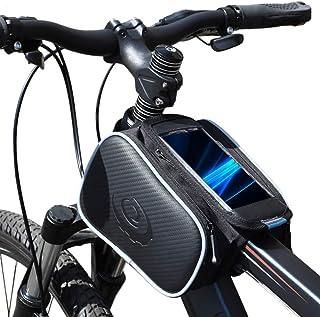Lixada Borsa per Manubrio da Bicicletta Borsa Anteriore Portabagagli per Tasca Laterale Riflettente