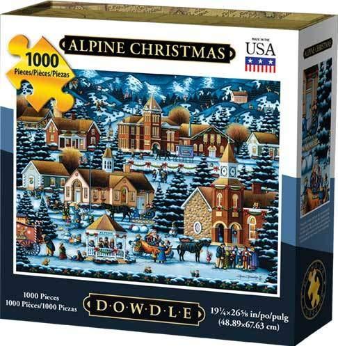 Dowdle Jigsaw Puzzle - Alpine Christmas - 1000 Piece