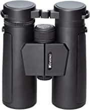 Kevenz 10x42 Compact Binoculars with Low Light Night Vision,Large Eyepiece High Power Waterproof Binocular Easy Focus for Outdoor Hunting, Bird Watching, Traveling (Black, 10 X 42)