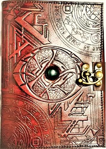 Urban Leather Libro – Diario de ciencia ficción Doctor Strange Fantasy – Libro de hechizos mágicos – Dibujo cuaderno de bocetos cuaderno de recortes