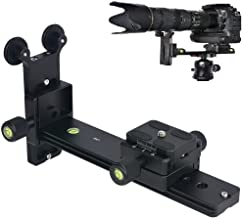 Runshuangyu L200 Telephoto Lens Support Bracket Quick Release Plate Long-Focus Stand Holder for Tripod DSLR Camera Photography Compatible for Arca-Swiss