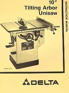 Delta Unisaw 36 812 Parts