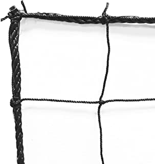 Just For Nets JFN Soccer Backstop/Barrier Net, Black