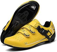 Y-PLAND Chaussures Basses à Semelles rigides pour Hommes et Femmes, Chaussures de vélo avec Serrure, Chaussures de Cyclism...
