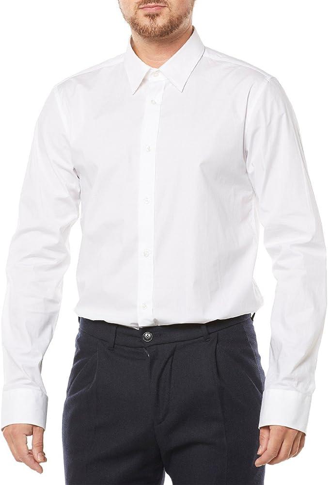 Hugo boss, camicia casual per uomo, 95% cotone, 5% elastan 50237804
