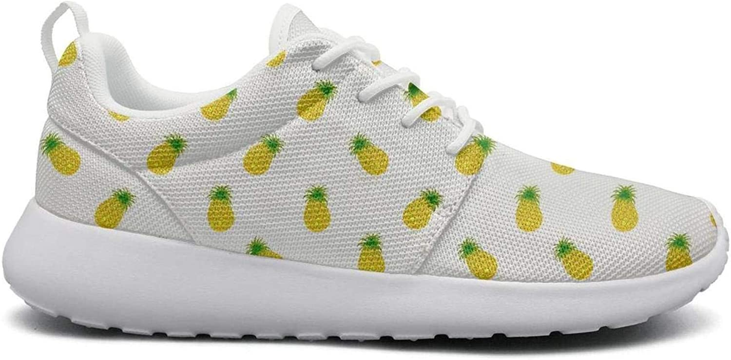 Ipdterty Wear-Resistant Sports Sneaker Cute Catoon Pineapple Women's Soft Athletic Running shoes