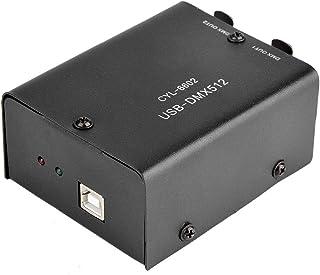 Controlador 3CH DMX, controlador de iluminação comum para controle de luzes de varredura por computador, faróis em movimen...