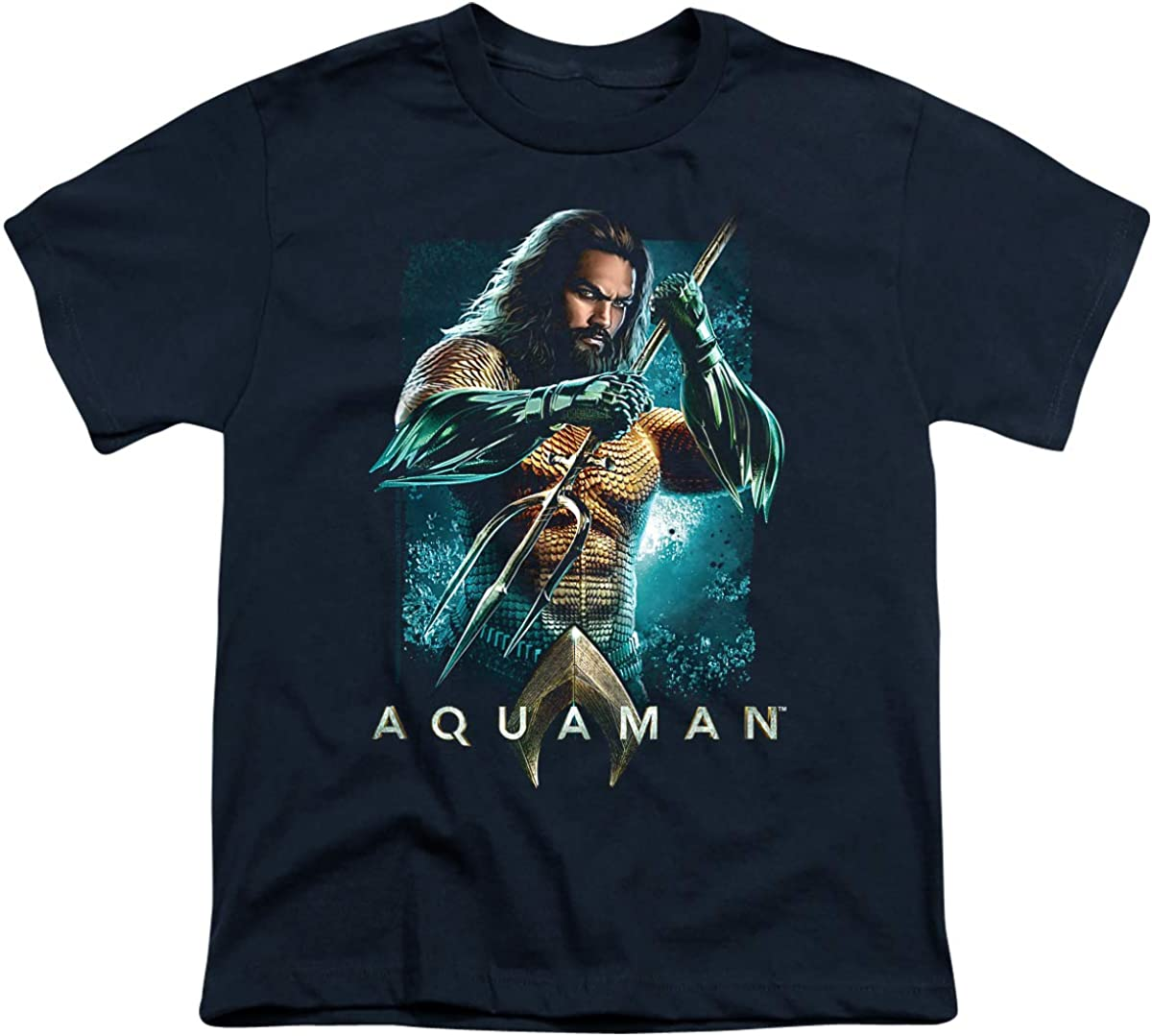 Aquaman Movie Trident Unisex Youth T Shirt