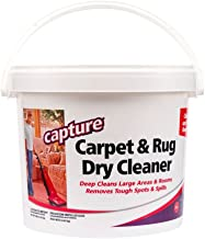 Capture Carpet Dry Cleaner Powder 8 lb – Deodorize Allergens Stain Smell Moisture..