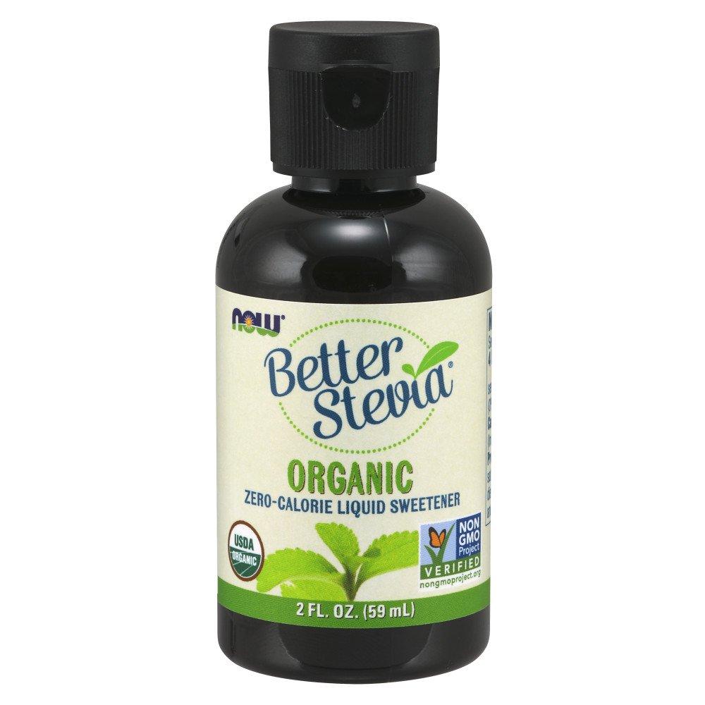 NOW Foods Organic Liquid BetterStevia, 2-Ounce