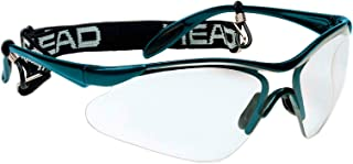 HEAD Racquetball Goggles - Rave Anti Fog & Scratch Resistant Protective Eyewear w/Adjustable Strap