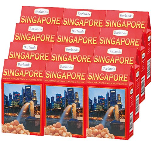 シンガポール 土産 シンガポール チーズ&ナッツ 12箱セット (海外旅行 シンガポール お土産)