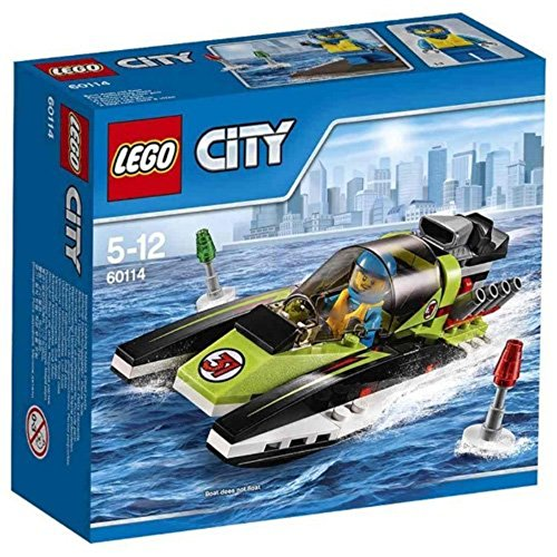 LEGO City Great Vehicles 60114 - Motoscafo da Competizione