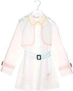 BURBERRY Luxury Fashion Womens 8005246 White Trench Coat | Season Permanent