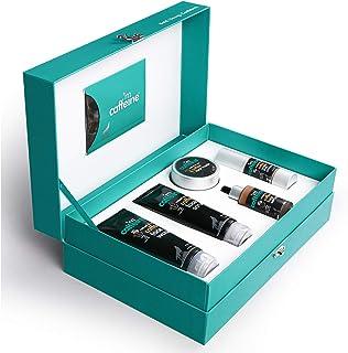 mCaffeine Coffee Look Gift Kit | Tan Removal,Sun Protection | Coffee Face Wash, Coffee Face Scrub, Coffee Face Mask, Coffe...