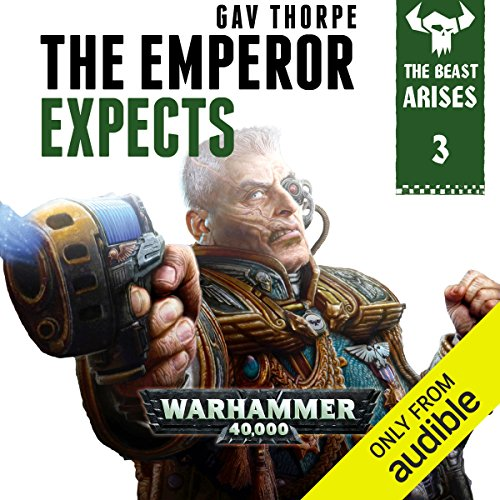 The Emperor Expects: Warhammer 40,000 audiobook cover art