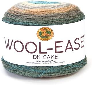Lion Brand Yarn 622-602 Wool-Ease DK Cakes Yarn, One Size, Lakeside
