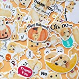 HENJIA Kreative süße Kawaii selbstgemachte Hunde Scrapbooking Tagebuch/dekorative Aufkleber/DIY...